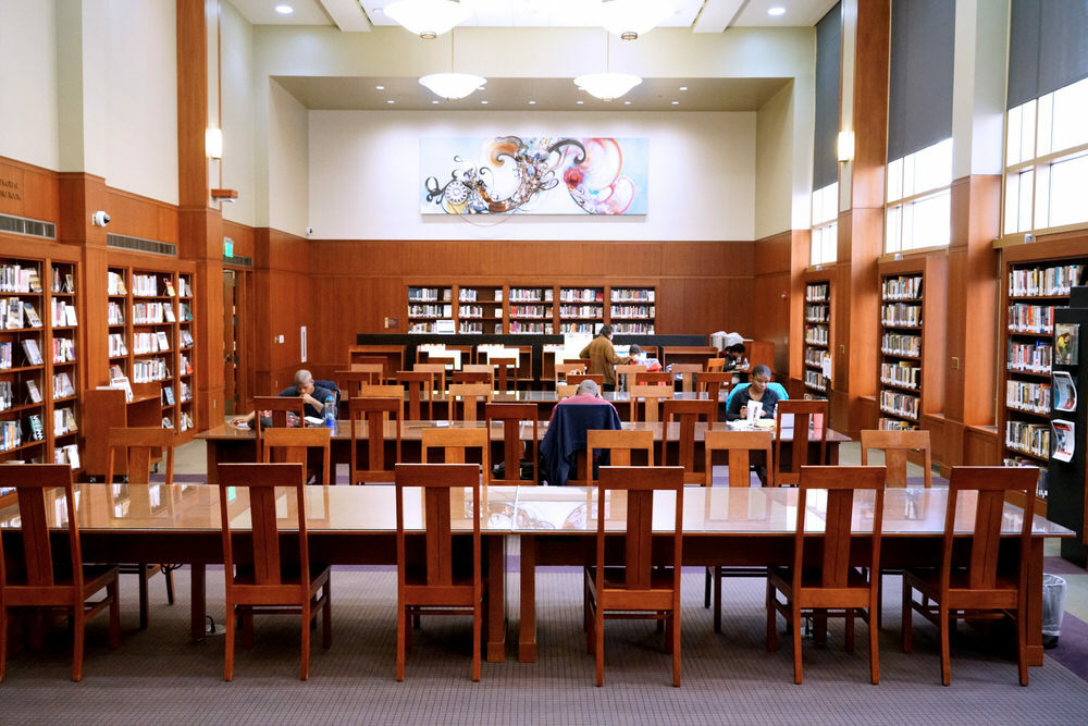 African American Department Reading Room