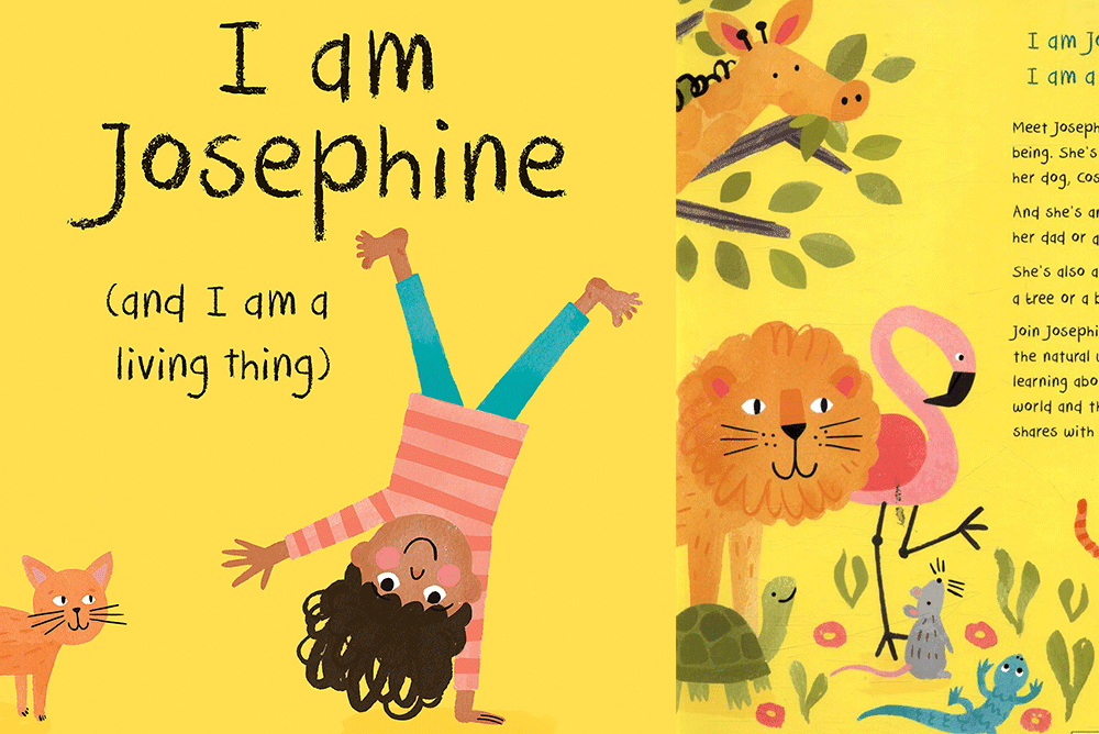 children's eBooks in the TumbleBook Library - I Am Josephine