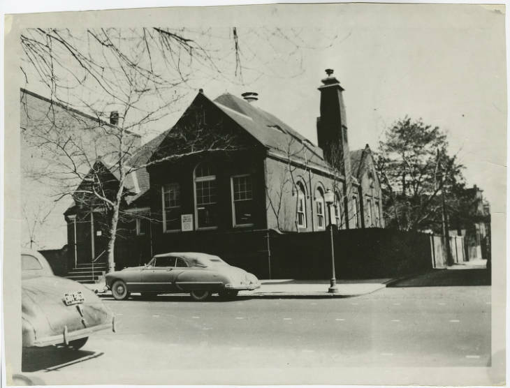 Branch 6 Charles Village or Peabody Heights Brtanch 1950