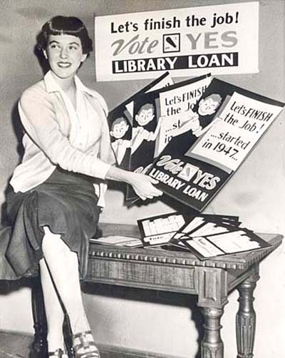 Library loan campaign