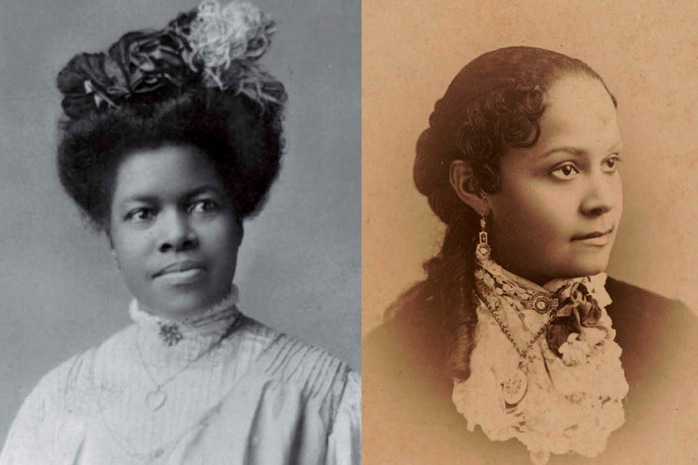 Portraits of Nannie Helen Burroughs and Fannie Barrier Williams. Library of Congress.