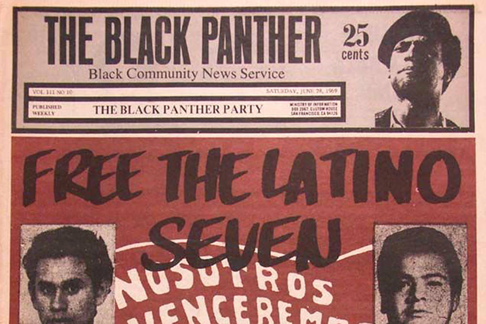 The Black Panther newspaper - Free the Latino Seven