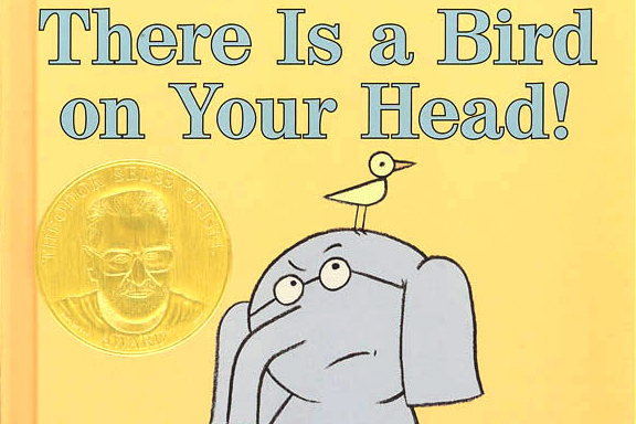 picture book, There is a Bird on Your Head