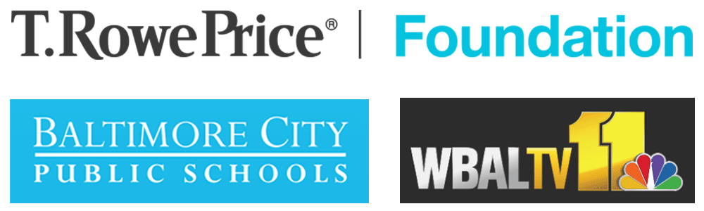 Partner logos: T. Rowe Price Foundation and Baltimore City Public Schools