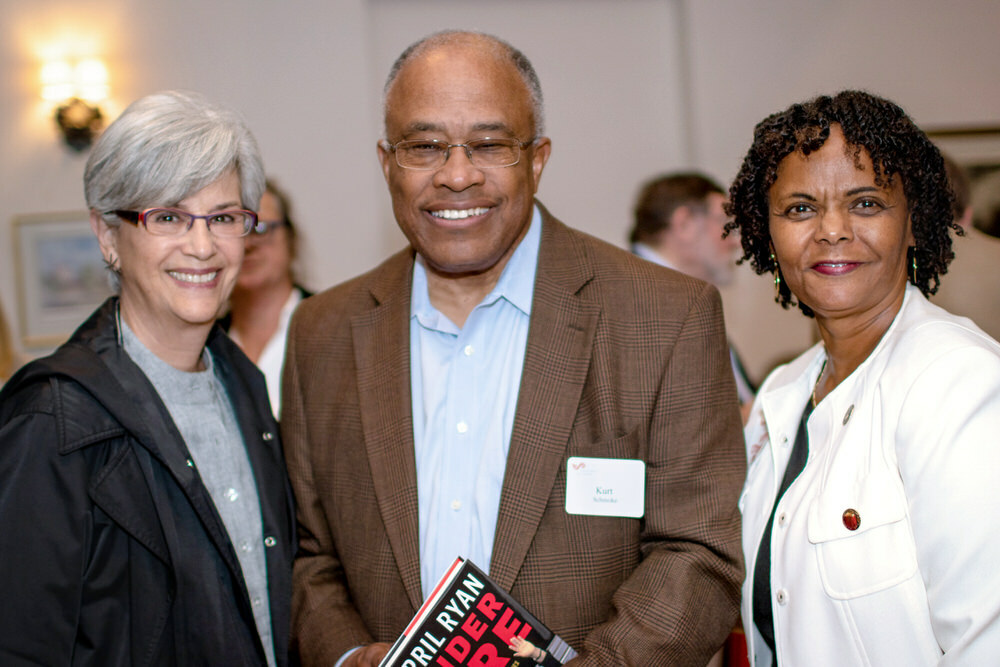 Pratt Society event with Kurt Schmoke